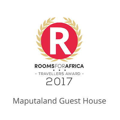 Maputaland Guest House wins RoomsForAfrica Travellers Award for 2017