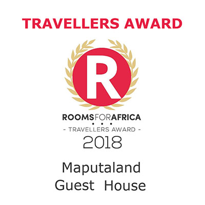 Maputaland Guest House wins RoomsForAfrica Travellers Award for 2018
